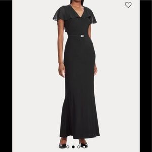 Ralph Lauren Black Evening Dress